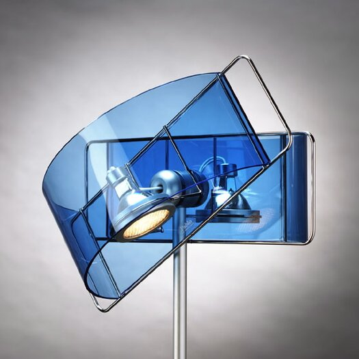 """Pablo Designs Gloss LED 27"""" H Table Lamp with Novelty Shade"""