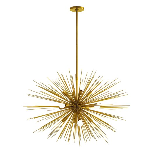 ARTERIORS Home Zanadoo Gold 12 Light Chandelier