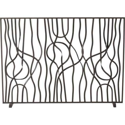 ARTERIORS Home Gautier 1 Panel Iron Fireplace Screen