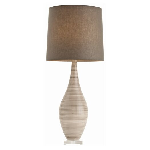 """ARTERIORS Home Hunter Striped 41"""" H Table Lamp with Empire Shade"""