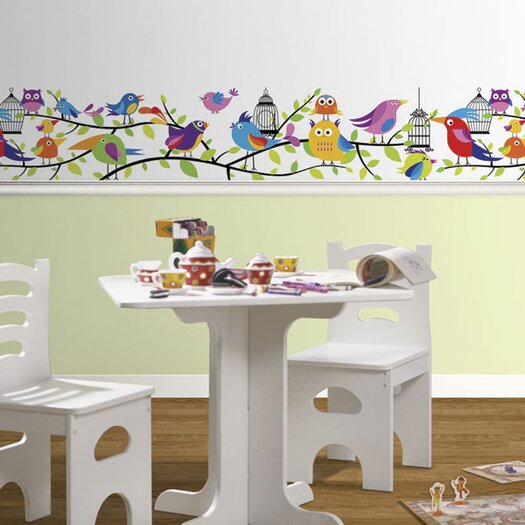 "4 Walls Tweety Pie 15' x 9"" Wildlife Border Wallpaper"