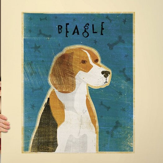 4 Walls Top Dog Beagle Wall Mural