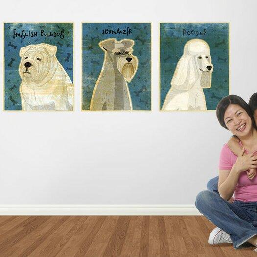 4 Walls Top Dog English Bulldog Wall Mural