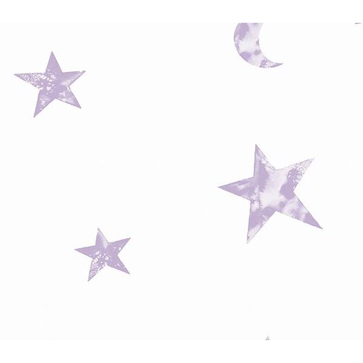 "4 Walls Whimsical Children's Vol. 1 Star 20.5' x 33""  Wallpaper"