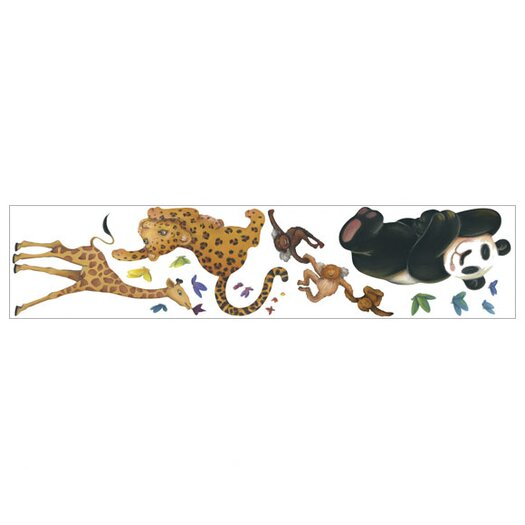 4 Walls Jungle Freestyle Wall Decal