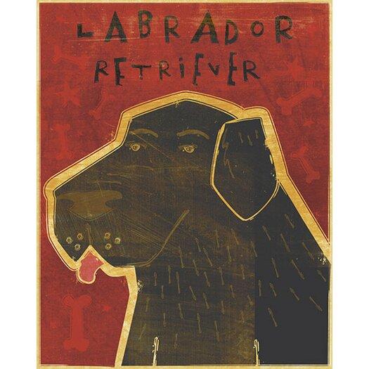 4 Walls Top Dog Labrador Retriever Wall Mural