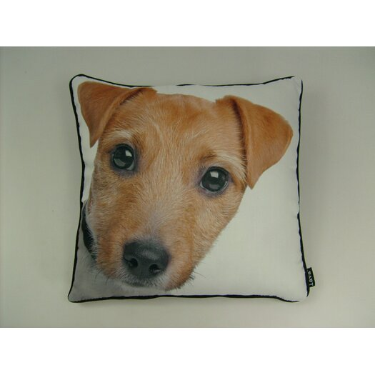 lava Jack Russell Throw Pillow