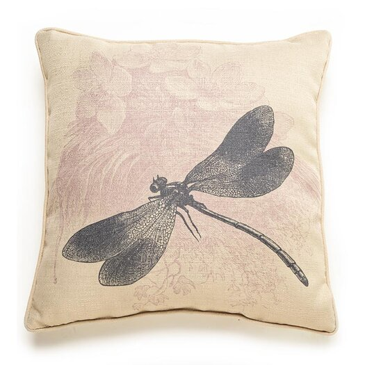 lava Lava Dragonfly Etching Throw Pillow