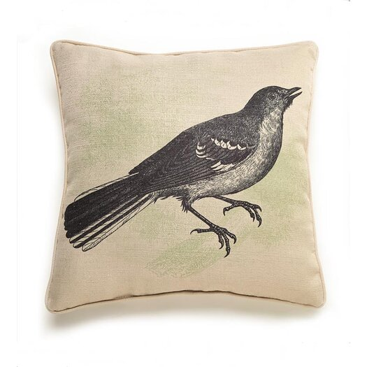 lava Lava Bird Etching Throw Pillow