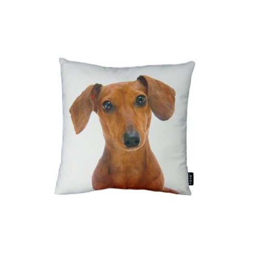 lava Daschund Throw Pillow