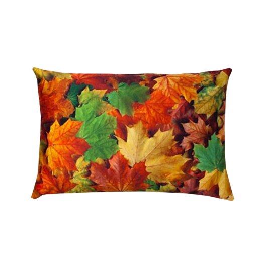 lava Autumn Throw Pillow