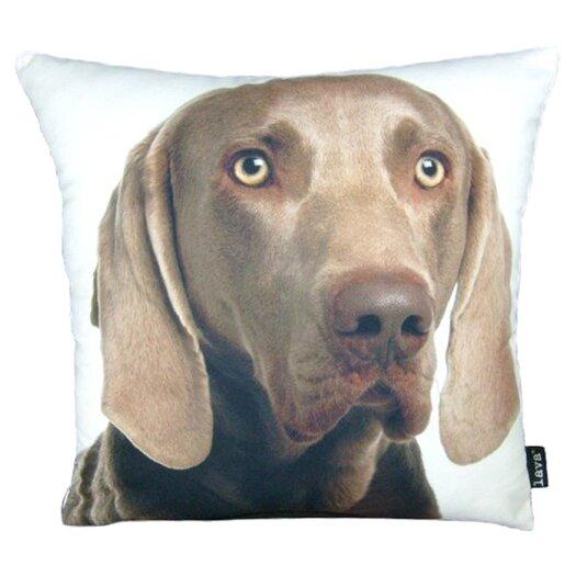 lava Weimareiner Throw Pillow