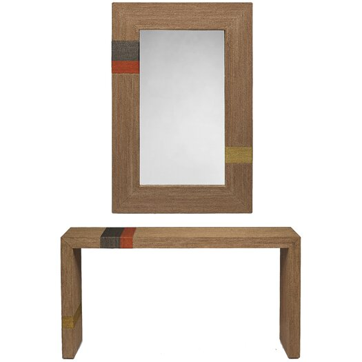 Oggetti Bahia Console Table with Mirror