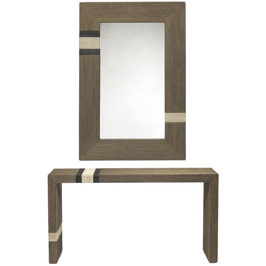 Bahia Console Table with Mirror