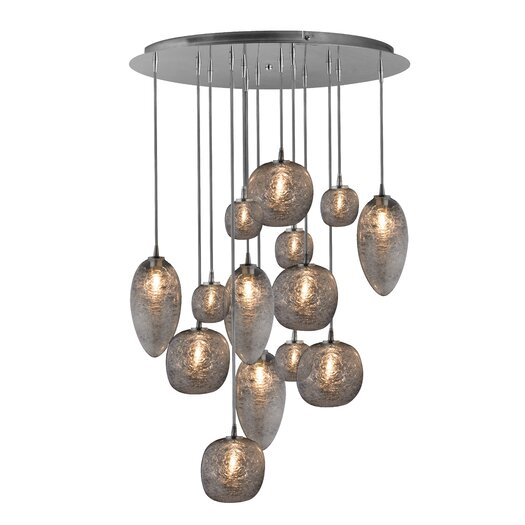 Oggetti Cosmos 14 Light Globes Chandelier