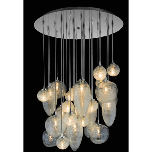 Oggetti Cosmos 28 Globes Chandelier