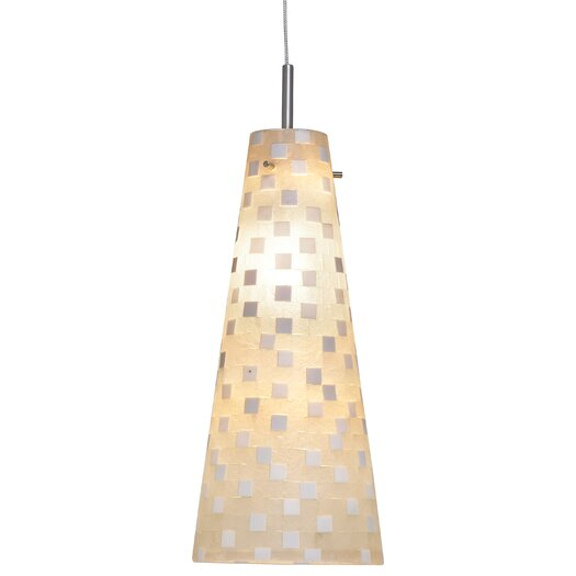 Oggetti Mosaic Small Fry 1 Light Low Voltage Pendant