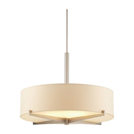 """Philips Forecast Lighting 7"""" Organic Modern Fisher Island Pendant Drum Shade"""