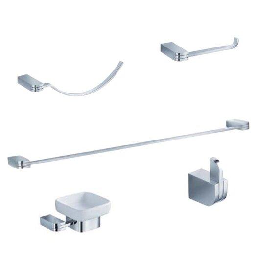 Fresca Solido 5 Piece Bathroom Hardware Set