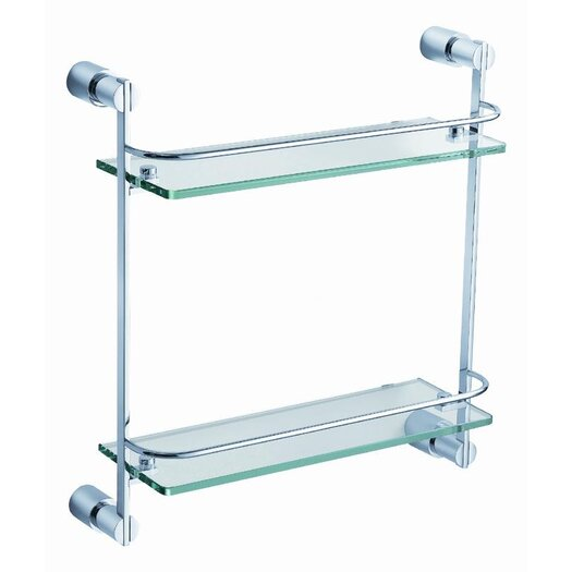 "Fresca Magnifico 15.75"" x 15"" Bathroom Shelf"