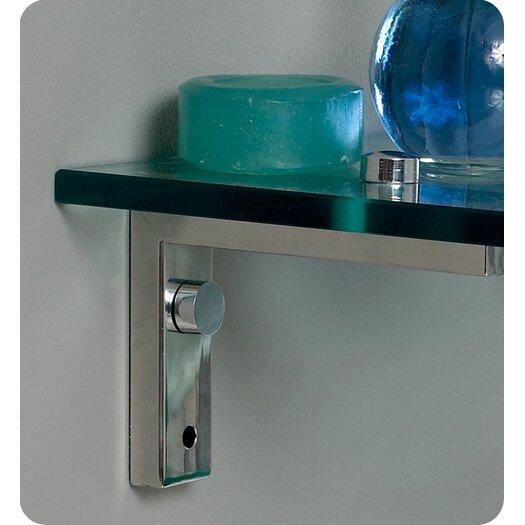 "Fresca Vetro 24"" Single Ovale Modern Bathroom Vanity Set with Mirror"
