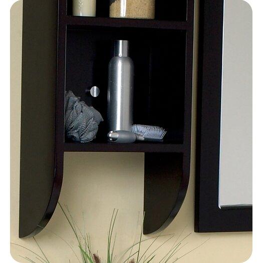 "Fresca Stella Bellezza 59"" Double Modern Bathroom Vanity Set with Mirror"