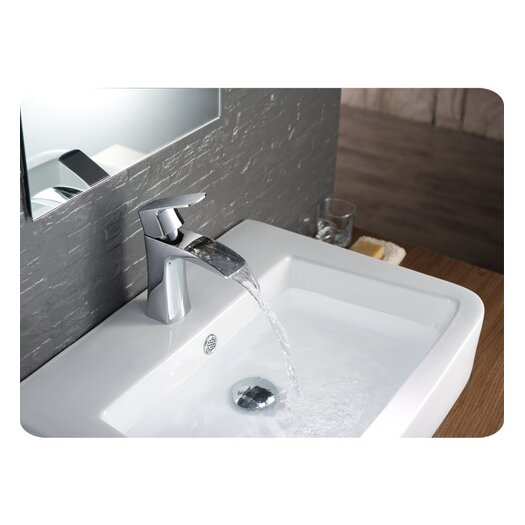 Fresca Fortore Single Handle Deck Mount Vanity Faucet