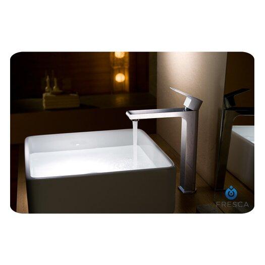 Fresca Allaro Single Handle Deck Mount Vessel Faucet