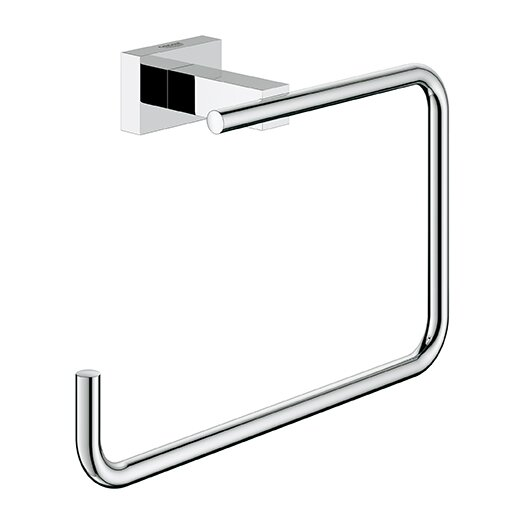 Grohe Essentials Wall Mounted Cube Towel Ring