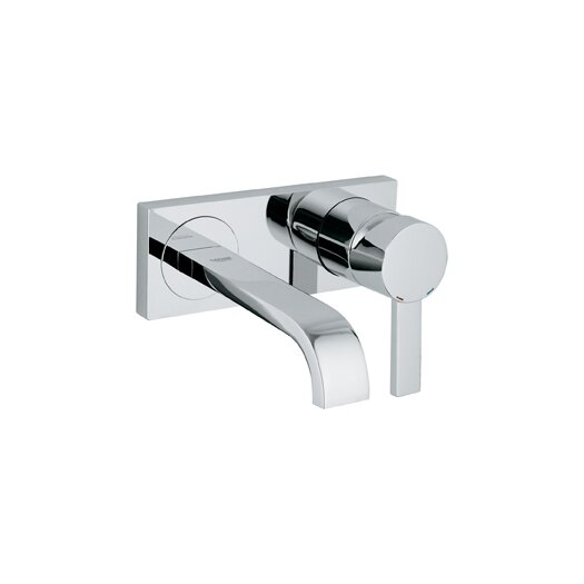Grohe Allure Single Handle Wall Mounted Bathroom Faucet