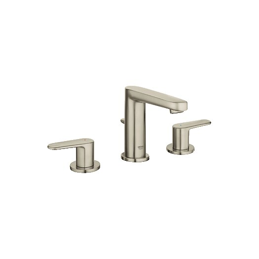 Grohe Europlus Double Handle Widespread Bathroom Faucet