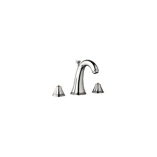 Grohe Geneva Widespread Bathroom Faucet, Less Handles
