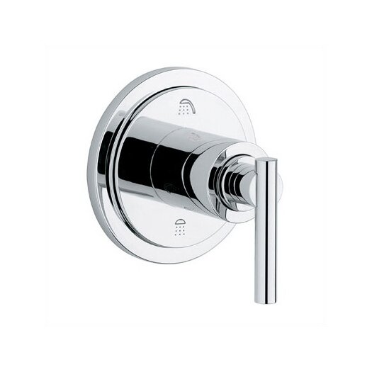Grohe Atrio 3 Port Diverter Faucet Trim with Lever Handle