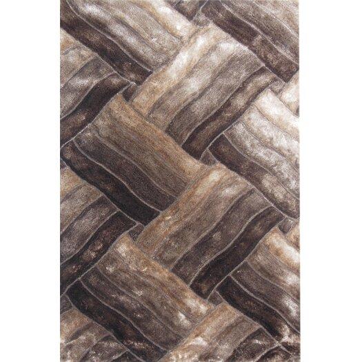 Glam Beige/Brown Area Rug