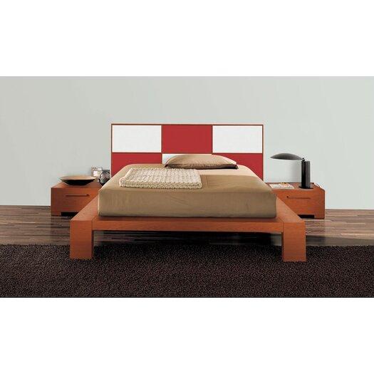 Yumanmod Wynd Bed With Wood Panels Allmodern