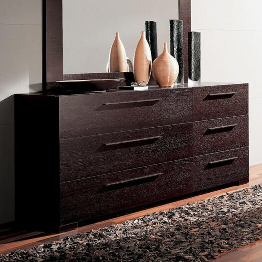 YumanMod Soho Double Dresser with Mirror