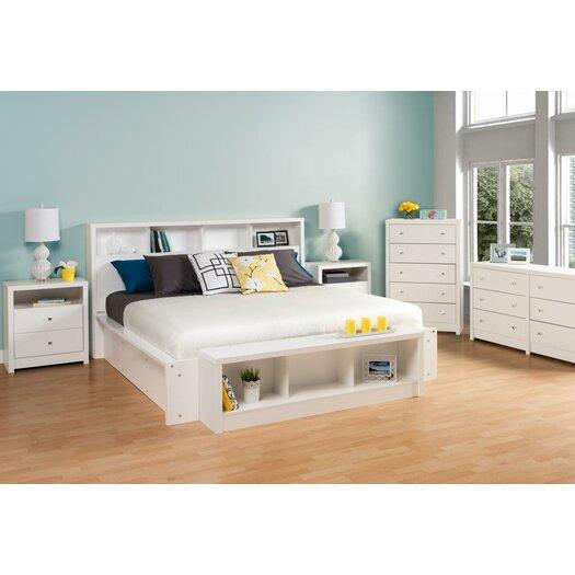 Prepac Calla Platform Customizable Bedroom Set