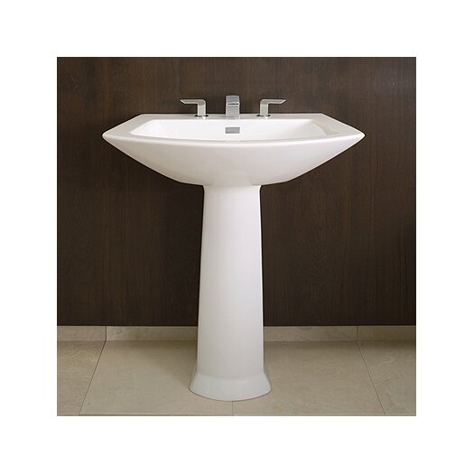 Toto Soiree Pedestal Bathroom Sink Set