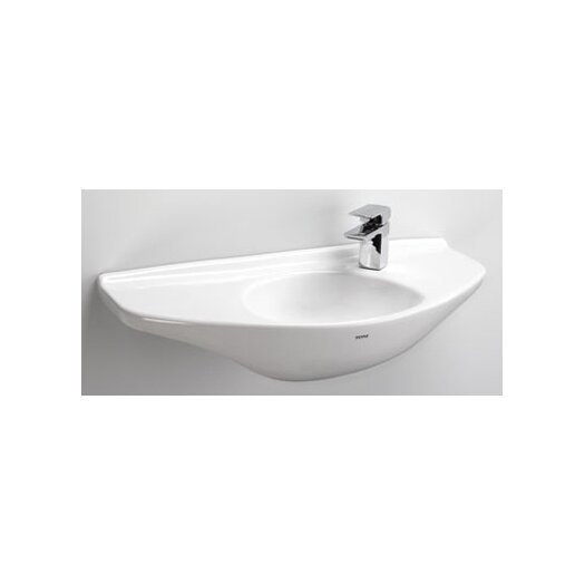 "Toto 29.5"" Wall Mount Bathroom Sink with SanaGloss Glazing"