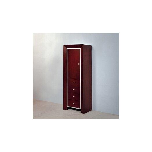 """DecoLav Cityview 60"""" Single Bathroom Vanity Set"""