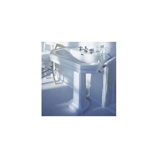 Duravit 1930 Series Pedestal Bathroom Sink Set