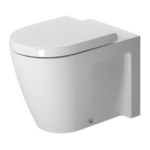 Duravit Starck 2 Floor Standing Back to Wall Round 1 Piece Toilet