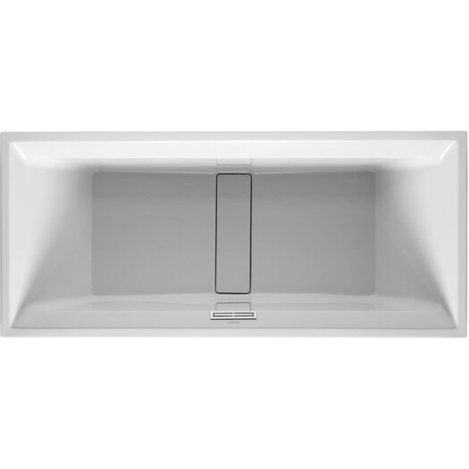 "Duravit 2nd Floor 71"" x 32"" Soaking Bathtub"