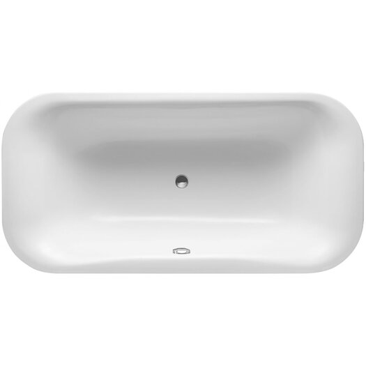 "Duravit PuraVida 79"" x 39"" Soaking Bathtub"