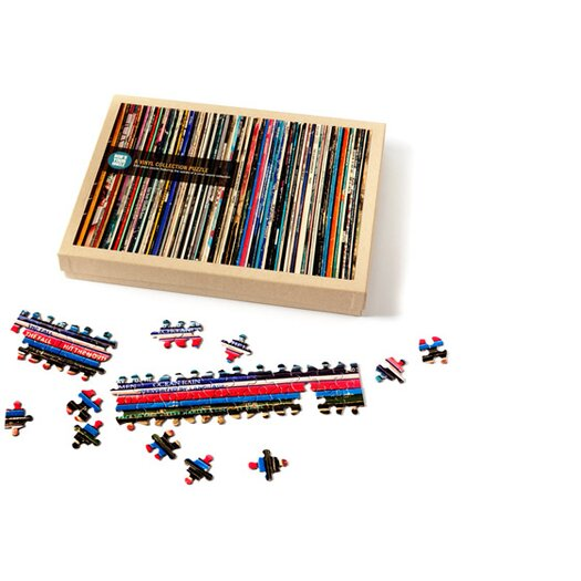 Bob S Your Uncle Vinyl Collection Puzzle Allmodern