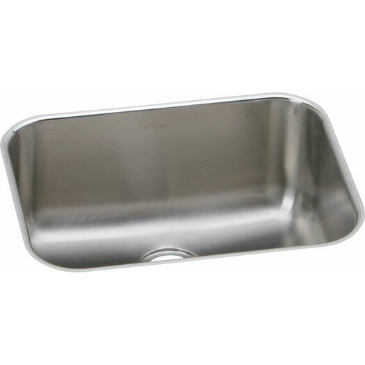 "Elkay Elumina 23.5"" x 18.25"" 18 Gauge Single Bowl Kitchen Sink"