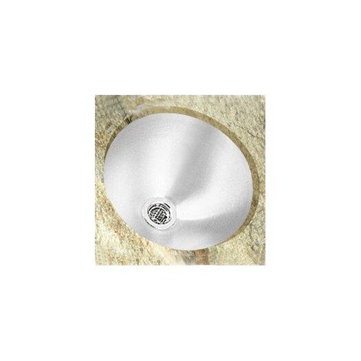 "Elkay Lustertone 14.38"" x 14.38"" Undermount Single Bowl Kitchen Sink"