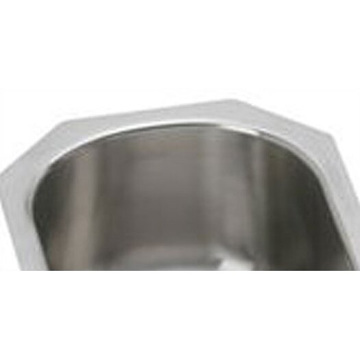 "Elkay Elumina 14"" x 17.5"" Single Bowl Kitchen Sink"