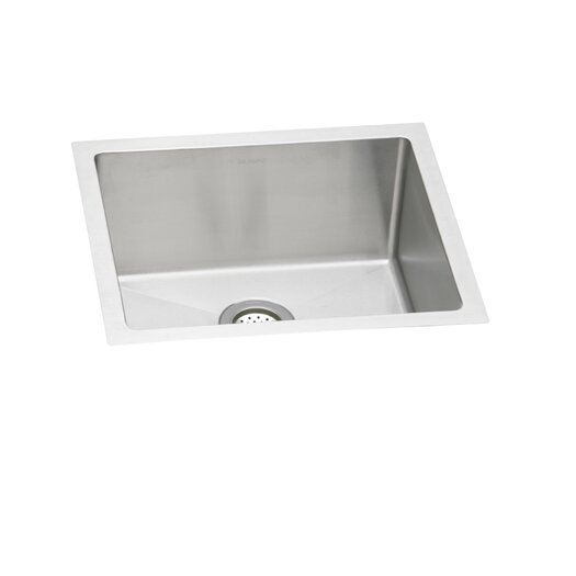 "Elkay Avado 21.5"" x 18.5"" Single Bowl Kitchen Sink"
