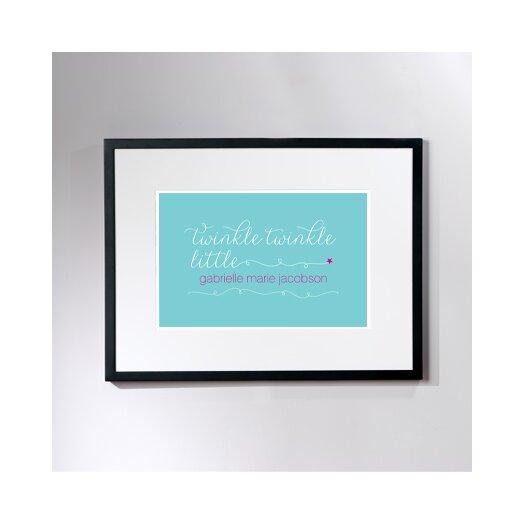 Checkerboard, Ltd Personalized Twinkle Framed Art